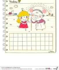 小女孩助人为乐的日记