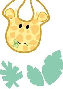 可爱的长颈鹿头像