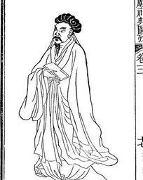 圣庙祀典图考-拿信纸的古代人物