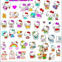 hello kitty��ͨ����ϼ�