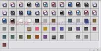 61个玻璃按钮叠加图层样式下载