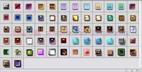 62种玻璃浮雕按钮图层样式下载