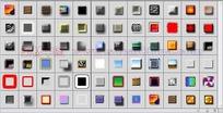 72种灰色调按钮浮雕图层样式下载