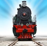 蒸汽式火车头