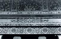 精美中国传统图案雕刻