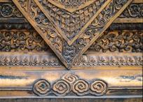 鎏金古典花纹雕刻图案