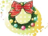 精美圣诞节彩球蝴蝶结