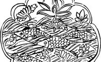 zhongguoyijisheqingpian_中国古典图案-鱼构成的图案