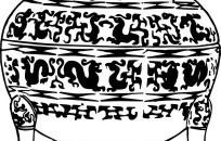 中国古代器物-古物上的龙纹图片