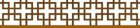 古典循环对称方形移窗雕刻图案花边