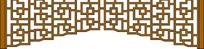 古典循环对称移门雕刻图案花边