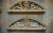 欧洲人物雕塑建筑