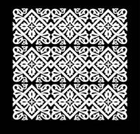 四方连续黑白图片图片