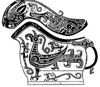 传统青铜器纹饰-凤鸟纹