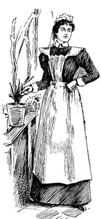 欧式漫画打伞的贵族女孩图片