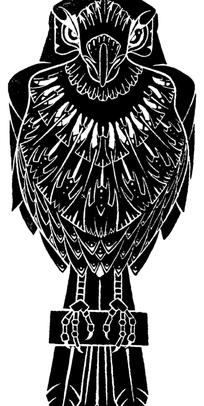老鹰风筝图案素材