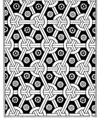 中国古典图案-几何形构成的连续纹样图片