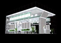 环保产品展厅max模型