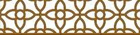 漂亮的中式花纹窗户PSD分层素材
