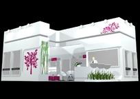 时尚浪漫展厅3d模型设计