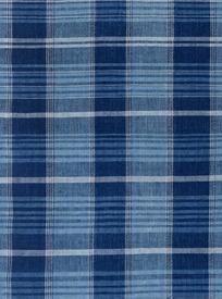 简单的蓝白格子布料图案