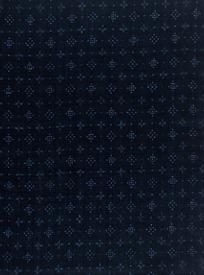 深蓝背景上的重复菱形布料图案