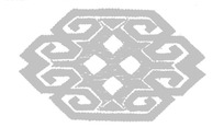中国古典图案-菱形构成的六边形图案