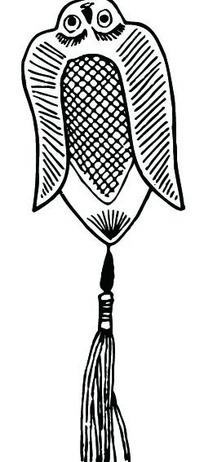 风筝吊坠图案素材