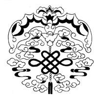 zhongguoyijisheqingpian_中国古典图案-坐着驴车的人物