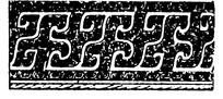 中国古典图案-连续曲拐青铜器纹样装饰图案