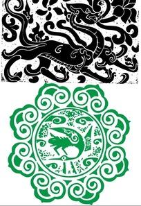 汉碑装饰纹样