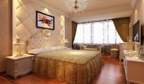 现代欧式卧室效果图3d模型 max