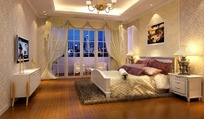 现代欧式风格的客厅效果图3d模型 max