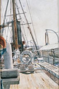 航海简笔画图标