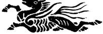 中国古代器物-飞奔的马构成的斑驳的图案