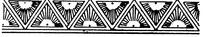 传统黑白边框底纹图案矢量素材