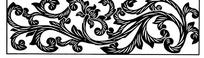 龙形卷草莲花纹构成的横图图案