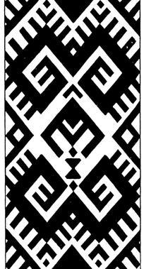 中国古典矢量几何对称图案