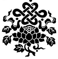 中国古典图案-宝螺和吉祥结