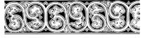 传统二方连续装饰图案矢量素材