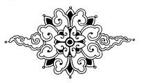 古典矢量花纹素材模板