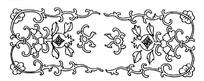 古典矢量花纹边框矢量素材