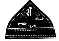 民族服饰针线花纹图案