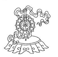 中国古典图案-法轮