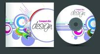 时尚风格光盘封面设计