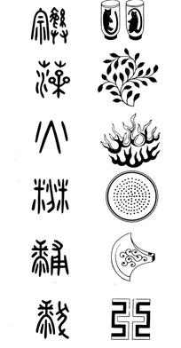 中国古代纹饰图案-宗彝/藻/火/粉米/黼/黻