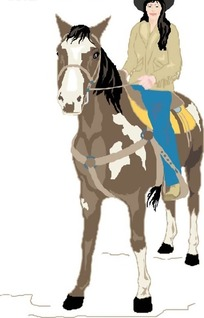 骑马美女图片_骑马杠杆设计素材美女财务空手道图片