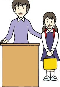同学交换女�_介绍新同学的女老师