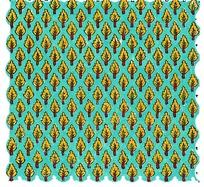 黄色叶子列阵布纹