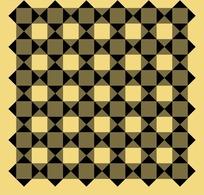 黑色灰色方形组合图案